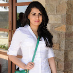 Archana Veda in White Shirt  Cute Pics