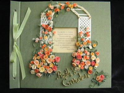 Paper Rose Trellis Journal