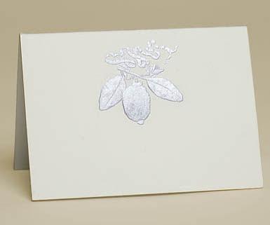 Mrs. John L. Strong card