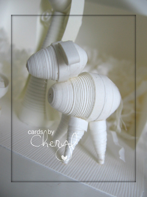 quilled donkey