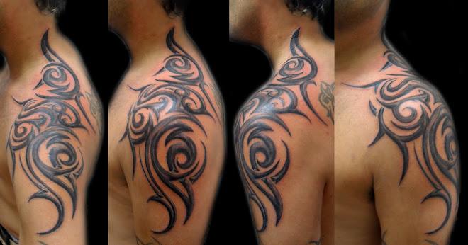 Tatuajes Brazo Hombro Disenos - Tatuajes-de-hombro-y-brazo