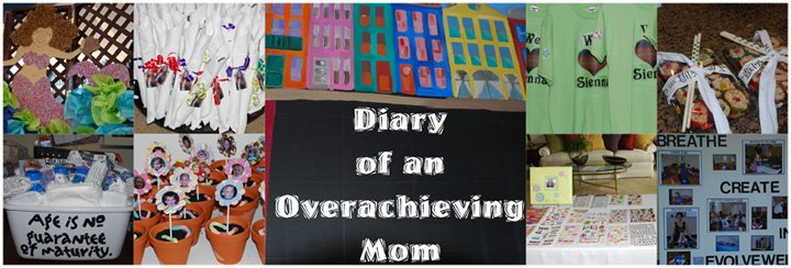 Diary of an Overachieving Mom