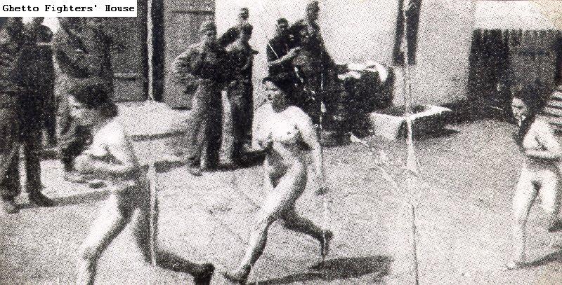 jews holocaust Naked