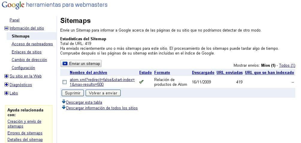 Enviar El Mapa De Mi Sitio (Sitemap) A Google, Yahoo Y