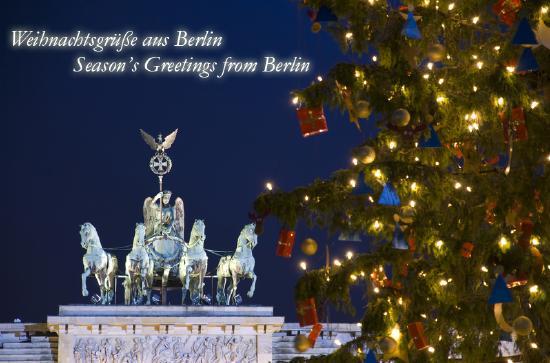 Weihnachtsgrüße Aus Berlin.Berlinica Blog Fröhliche Weihnachten