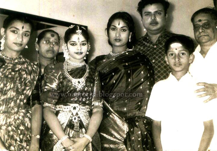 Gemini Ganesan Savithri: Legend Savithri Rare Family Photos Collection Gallery 2