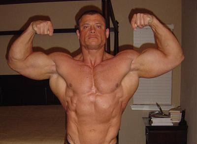 boy muscles speedo
