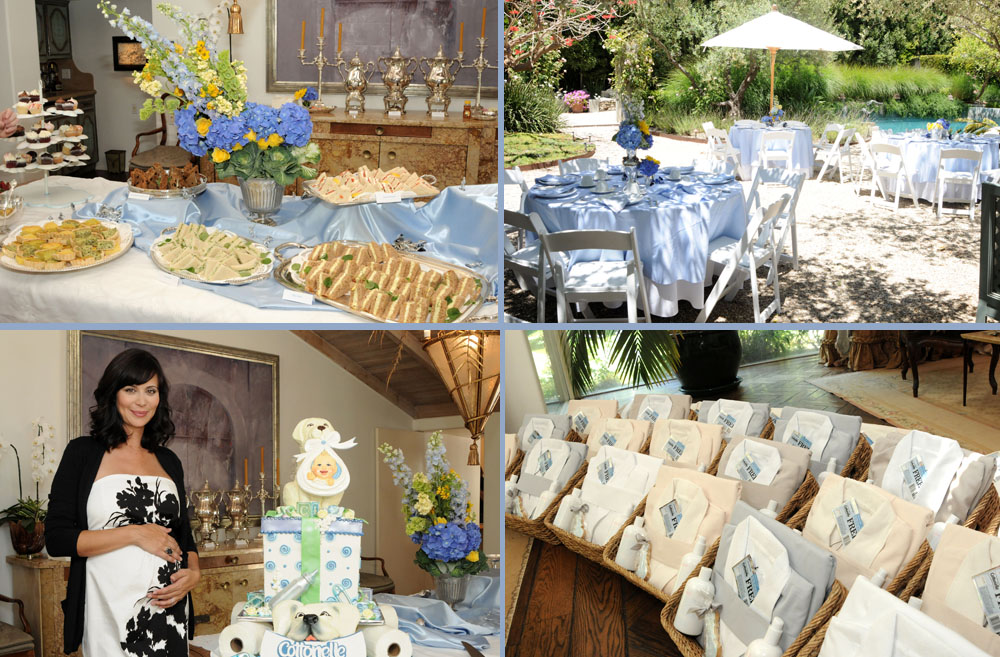 Baby Shower Templates Free: Real Party: Celebrity Baby Shower