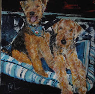 An Oil Painting of US ~ Thanks Daddy!!