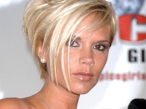 Beauty Haircuts Victoria Beckham Short Blonde Bob Haircuts