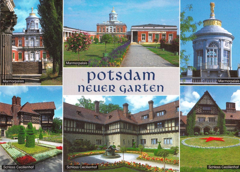 Postcards Potsdam Neuer Garten