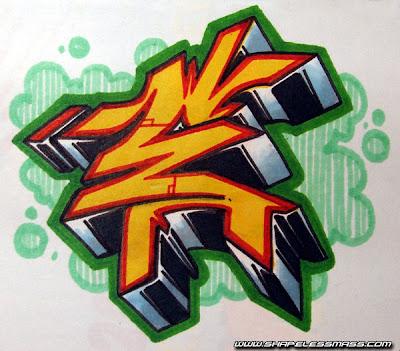 3d Graffiti Bubble Letter E Trends Graffiti