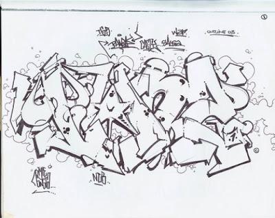 Best Graffiti Wallpaper Sketch Graphic Design On Paper