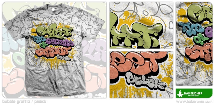 Best Graffiti Design T Shirt Graffiti Bubble Letters By Bakeroner
