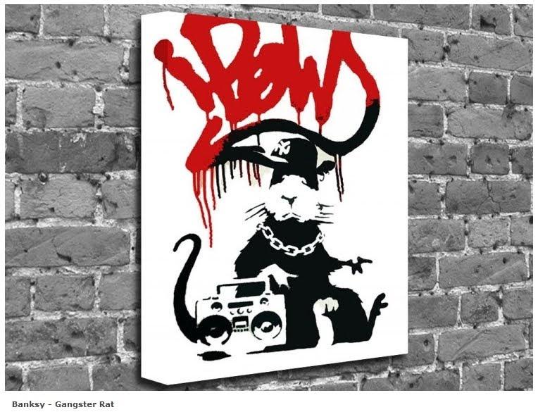 Banksy graffiti writing alphabet