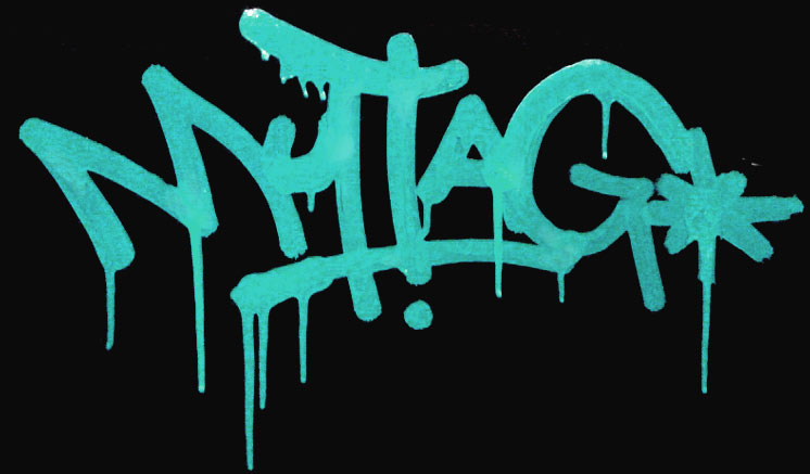 how to make your name graffiti style