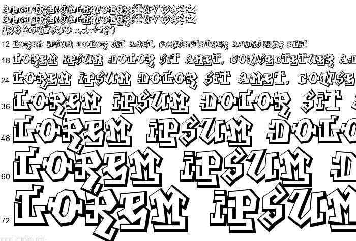 graffiti font generator