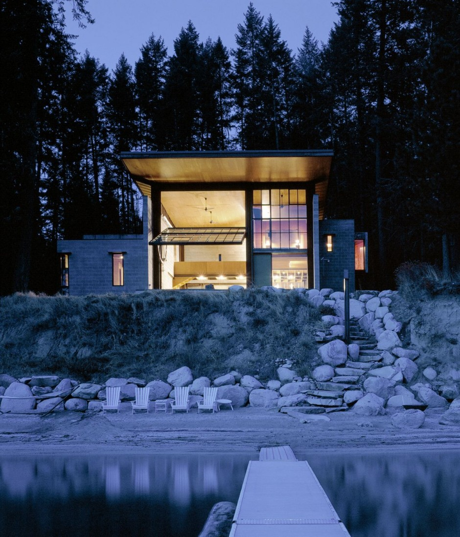 Chicken Point Cabin : By Olson Kundig Architects