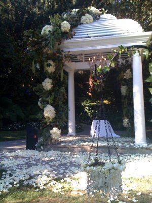 The Luxe Bride Blog A Shabby Chic Southern Wedding
