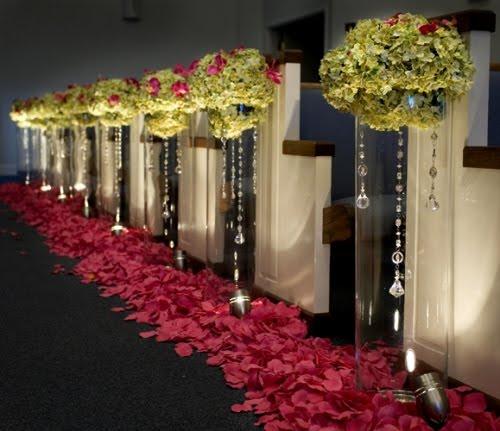 Wedding Aisle Decoration Ideas: The Luxe Bride Blog: Fabulous Aisle Ideas