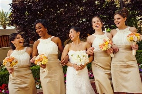La Belle Mariee: Real Wedding: Angela And Steve's Las