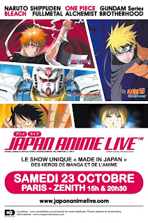 Japan Anime Live : le pop-opéra manga à Paris !