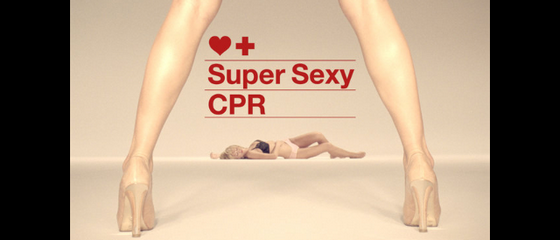 Super Sexy CPR, le secourisme selon Fortnight Lingerie
