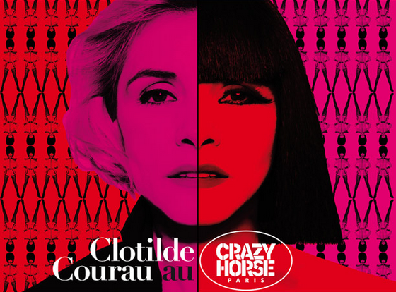 Clotilde Courau au Crazy Horse