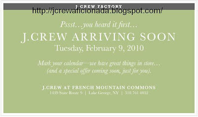 fd86c022c0 J.Crew Factory Email: We have a surprise for you, Lake George.