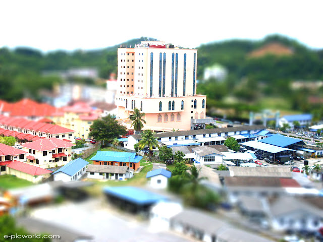 tilt-shift miniature faking wallpapers