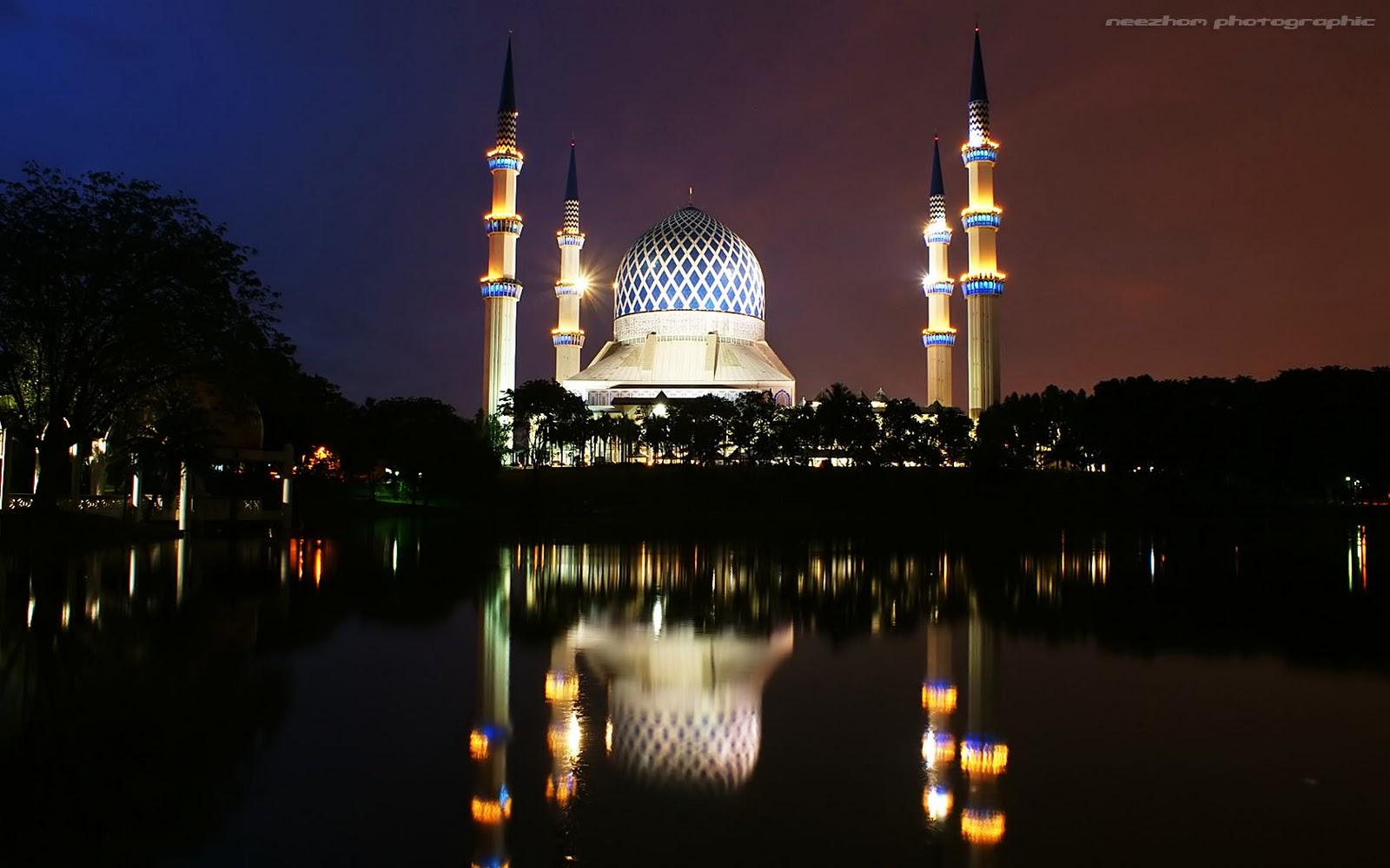 76 Gambar Gambar Masjid Waktu Senja Paling Bagus