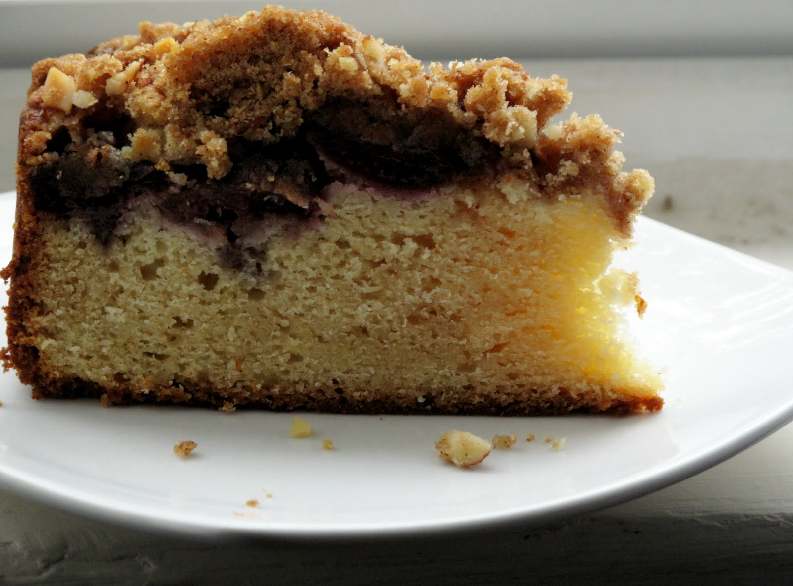 10x10 Cherry Almond Coffee Cake