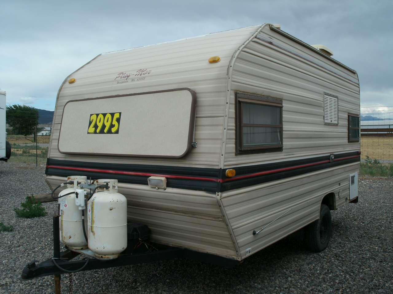 1986 PLAY-MOR M-1500 15 x 7 foot RV Trailer SOLD! | You Sell
