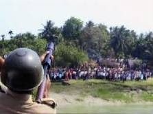 CPIM's police fireing to villegers!!