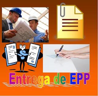 Procedimiento para la entrega EPP