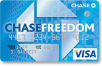 CHASE VISA CREDIT CARD