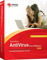 20% off - Trend Micro AntiVirus plus AntiSpyware 2008