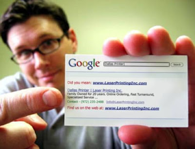 Google Business Cards - New Mantra for Success?