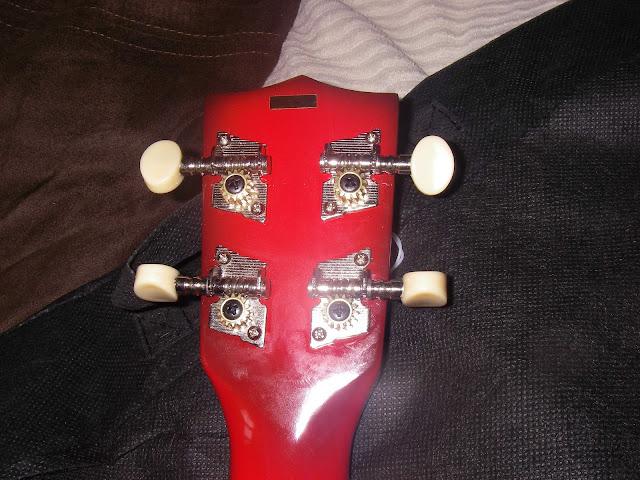 makala dolphin ukulele headstock
