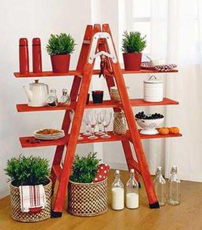 Manualidades julio 2010 for Escaleras de madera sencillas