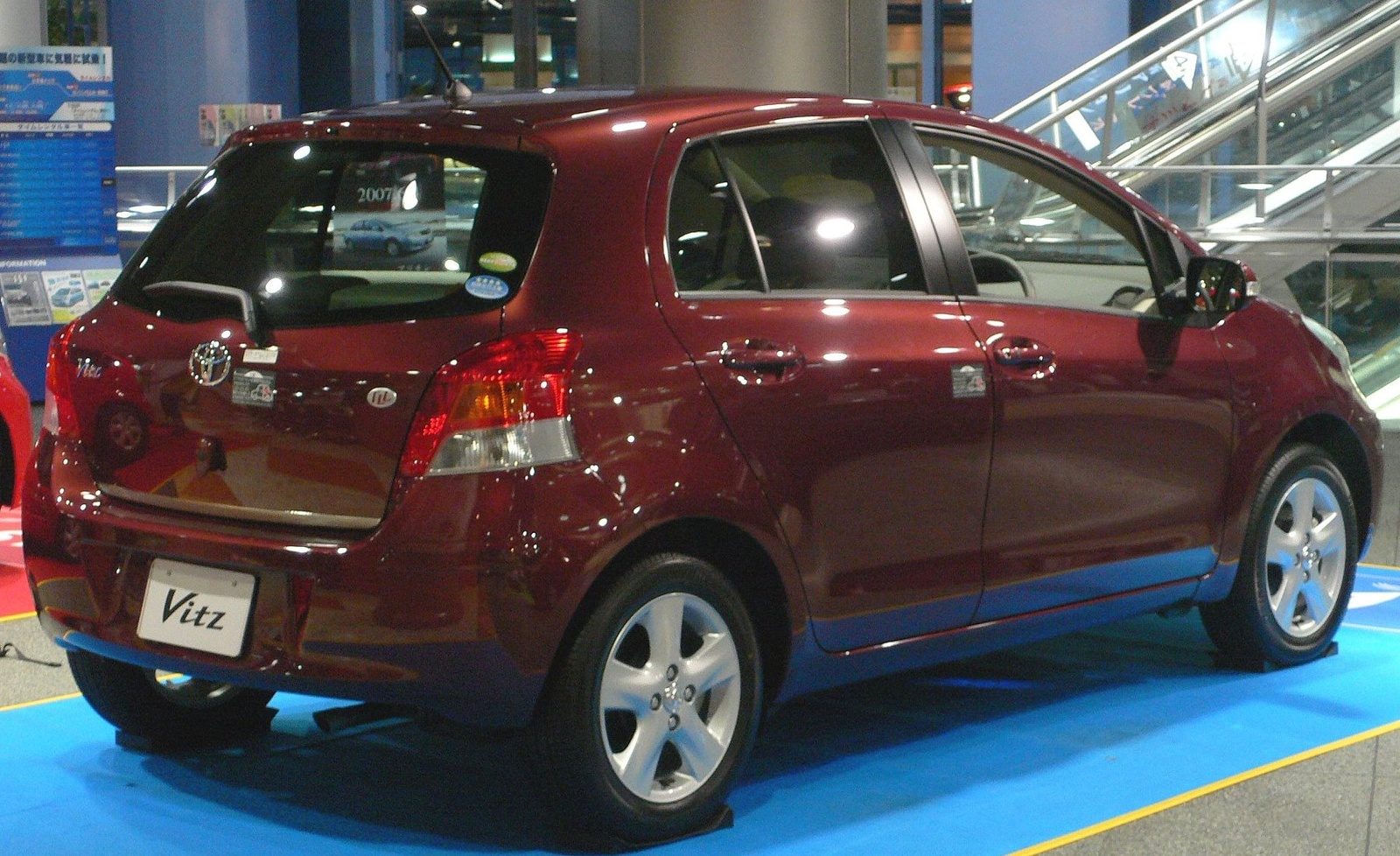 Japanese Car: Toyota Vitz 2010 Model