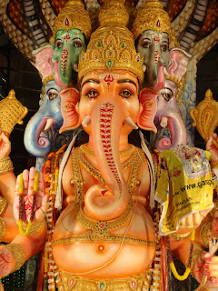 Khairatabad Ganesh 2010 Latest photos at Hyderabad