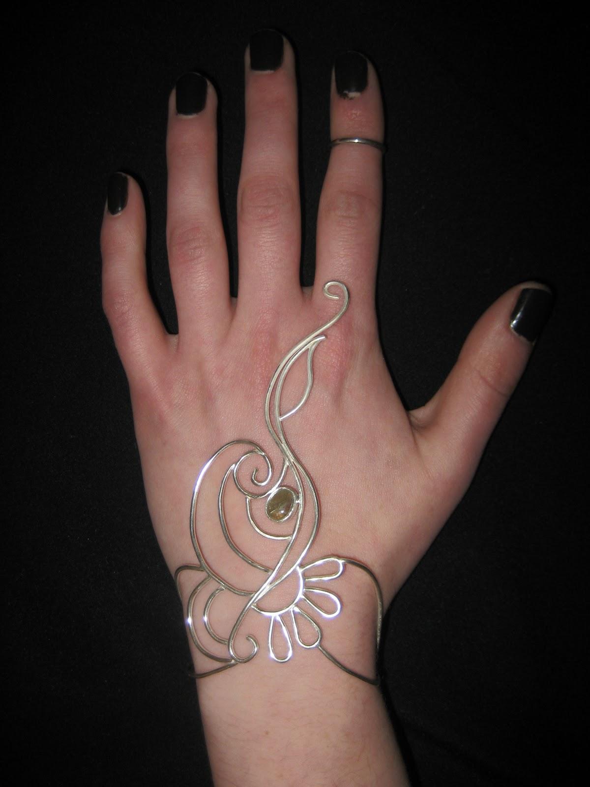 Henna Tattoo Ring Designs: Mixed Media Artist