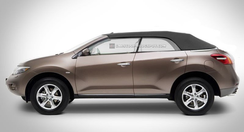 Crossover Nissan Murano Became Convertible Tipped New