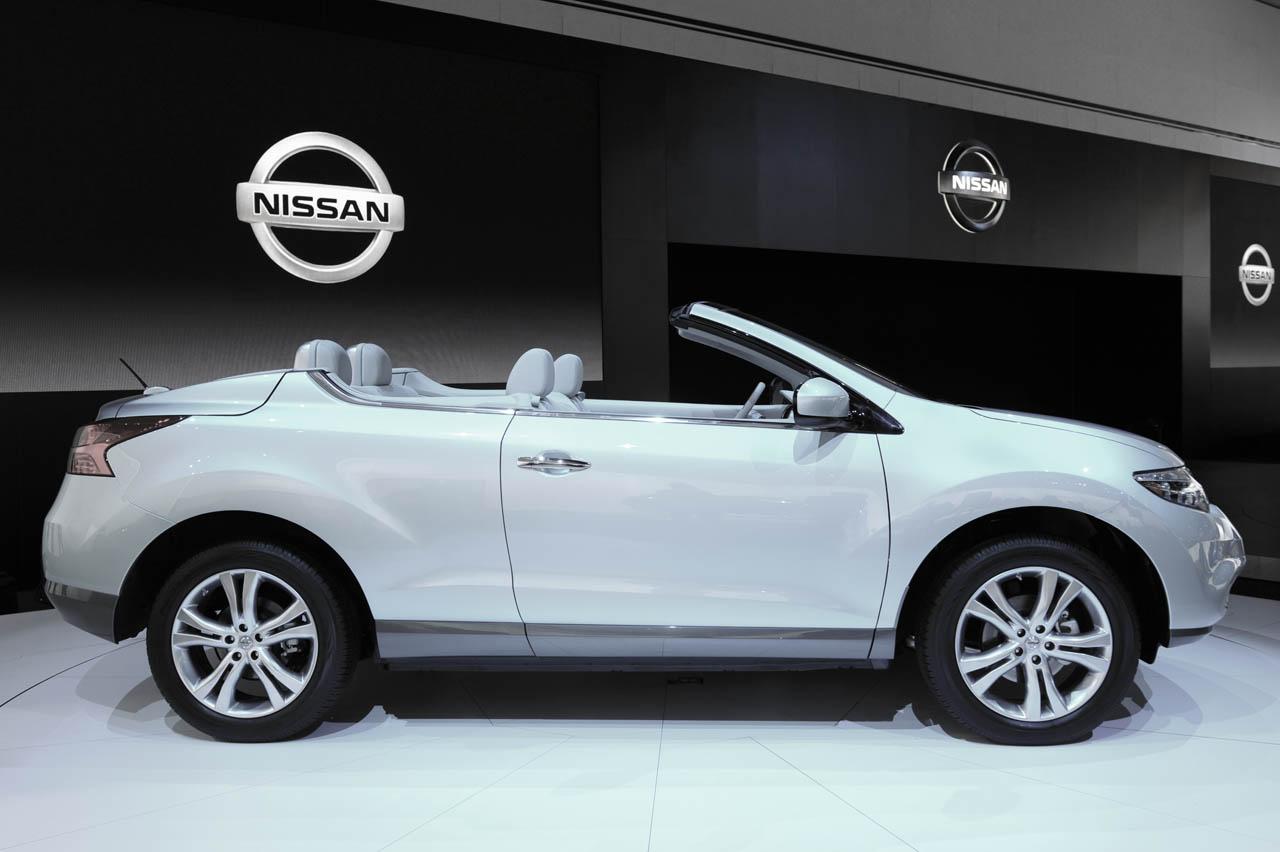Nissan Murano Cross Cabriolet Nissan Shows Open Suv