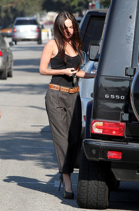 Celebrity Cars Megan Fox