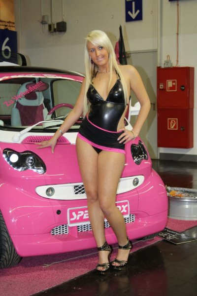 Street Racing Cars Wallpaper With Girls Motorcycle Style Trending Exhibition At The Essen Motor