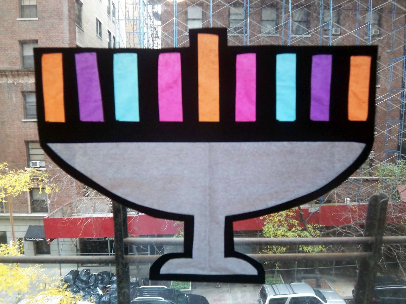 Jewish Crafts For Kids Stained Gl
