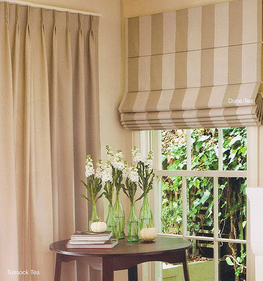 So The Roman Blinds And Curtains Will Look Like This