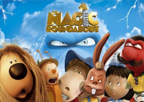 Hollywood Fan S Film Blog The Magic Roundabout Review